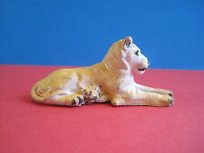 BRITAINS Plastic Zoo Animals: LIONESS 1960's New from Shop Counter Display