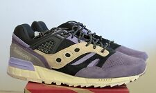 Saucony x Sneaker Freaker Kushwhacker Grid SD 9.5 purple black tan kushwacker 3