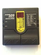 Zoom 509 Dual Power Modulator Multi Effects Processor Rare Guitar Effect Pedal