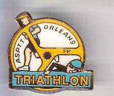 RARE PINS PIN'S .. PTT LA POSTE  FRANCE TELECOM ASPTT TRIATHLON VELO ORLEANS ~BQ