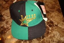 DALLAS STARS RARE PANELS    cap hat 1990's VINTAGE FITTED 7 1/4 AMERICAN NEEDLE