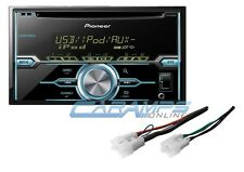 NEW PIONEER STEREO RADIO RECEIVER W/ INSTALL PARTS W/ AUX/USB & CD PLAYER