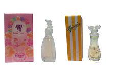 Womens Miniature Mini Travel Perfume Anna Sui Fairy Dance Giorgio  set of 2