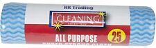 25 X ALL PURPOSE HYGIEENIC CLOTHS J CLOTHS TYPE JAY CLOTH CATERING CLEANING