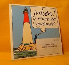 PROMO Cardsleeve Single CD Julien Clerc Le Phare Des Vagabondes 1TR 1997 Pop
