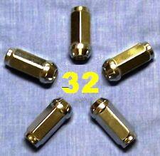 32 WHEEL LUG NUTS 9/16x18 C K D W F 250 350 2500 3500 RAM SILVERADO SIERRA
