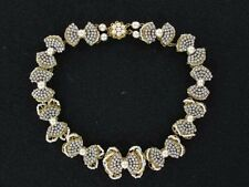 Gorgeous Classy Buttons and Bows Miriam Haskell Collar Necklace (NK1857)
