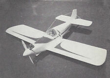 Under Dawg Sport Plane Plans, Templates, Instructions