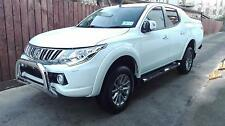Mitsubishi L200 2016+ Stainless Front Nudge Guard A Bull Bar Guard New Model