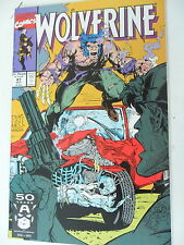 1 X COMIC-USA-Wolverine N. 47-October-MARVEL-inglese - z.1