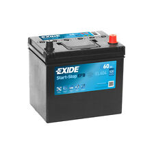 1x Exide Stop Start 60Ah 520CCA 12v 005 EFB Car Battery 4 Year Warranty - EL604