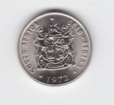 1972 South Africa 10 Cent cents Coin  Z-326