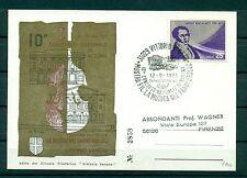 Italia 1971 - Cartolina Concorso di Violino - Vittorio Veneto