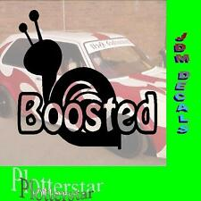 Boosted Schnecke Snail Turbo JDM Sticker aufkleber oem PS Power fun like Shocker