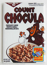 Count Chocula FRIDGE MAGNET (2 x 3 inches) cereal box monster chocolate