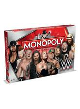OFFICIAL WWE WORLD WRESTLING ROYAL RUMBLE EDITION MONOPOLY BOARD GAME