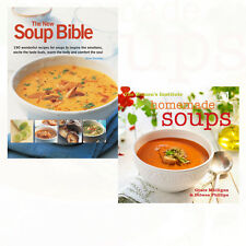 New Soup Bible 200 Wonderful Recipes & Homemade Soups Collection 2 Books Set