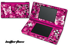 Skin Decal Wrap for Nintendo DSI Gaming Handheld Sticker SKULLS AND BUTTERFLIES