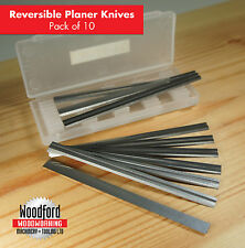 "10 x 82mm 8.3cm""Inch CARBIDE PLANER BLADES Makita Metabo Ryobi Elu"