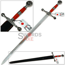 Fire & Ice Dragon Scorn One Handed Celtic Sword European Replica