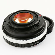 Focal Reducer Speed Booster Canon EOS EF lens to Sony NEX Adapter aperture A6100