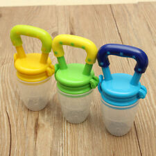 Safe Supplies Silicone Baby Feeder Feeding Fresh Food Fruit Juice Milk Shake 062