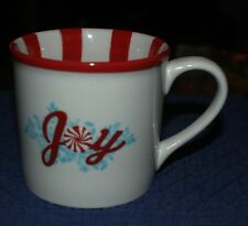 "Starbucks 2007 Holidays/Christmas With, ""JOY"" Vintage MUG/CUP Size 14 oz."