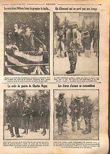 President Woodrow Wilson/Croix de Guerre Charles Peguy Général Cousin  WWI 1916