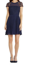 BCBGeneration New Lace Detail Fit And Flare Dress Size 2 MSRP $148 #CN 753