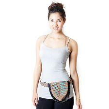 New Unisex Eco Cotton fanny pack Utility Hip Festival Bum Travel belt bag-70103