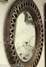 """Large 45"""" CELTIC KNOT Round Wall Mirror Silver Gold Circle Twisted Fretwork"""