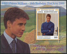 Grenadines Grenada 2000 SG#MS3001 HRH Prince William Birthday MNH M/S #A89693