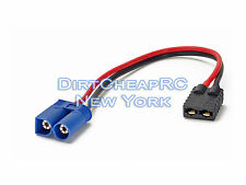 ID Charger Adapter: Traxxas Female to EC5 EC-5 Male TLR LiPo TRX TRA2970 TRA2972
