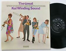 KAI WINDING THE GREAT SOUND ORIG COLUMBIA HARMONY MOD JAZZ LP VG++