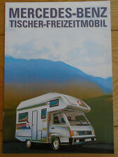Mercedes Tischer Motorhome brochure Aug 1991 German text