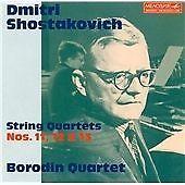 Shostakovich: String Quartets Nos 11-13, , Good Condition