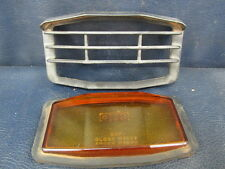 ARIS CHO Amber #1078 Glass Fog Light Lens w Guard Cover