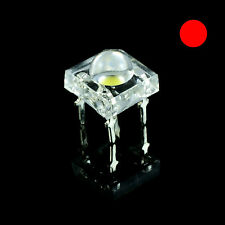5 x Red Piranha 5mm Super Flux LED Bulb