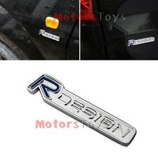 Body Rear Trunk R-DESIGN Stickers Badge Emblem VOLVO S60 XC60 V60 C70 XC90,etc