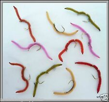 Trout Rainbow Trout Fly Fishing Flies 10 Fishing blood worms - Reservoir fishing