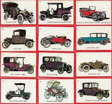 OLD TIMER CLASSIC CARS MONTY GUM COMPLETE BASE CARD SET OF 50 TR