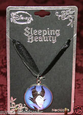 MALEFICENT CORD AND RIBBON NECKLACE WITH PENDANT DISNEY SLEEPING BEAUTY