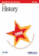 History Higher SQA Past Papers: 2008 by SQA (Paperback, 2008)