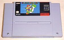 Super Mario World 1 one Nintendo SNES Vintage classic original game cartridge