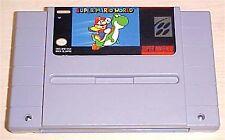 Super Mario World 1 one Nintendo SNES Vintage classic original game cartridge