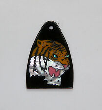 Truss Rod Cover with Tiger Head Inlay 02 will fit PRS