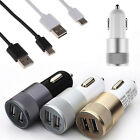 USB 3.1 Type C Charging Cable + Dual Port Car Charger for Nexus 6P/5X OnePlus 2