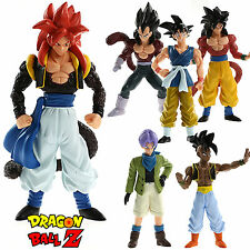 6Pcs Dragonball Z Super Saiyan 4 Son Goku Vegeta Action Figure Anime Giocattoli