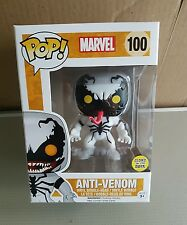 Funko Pop Vinilo Marvel #100:! anti-Venom brillan en la oscuridad (raro)