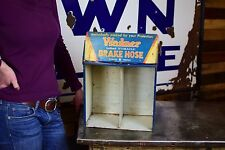 Wagner Lockheed Break Service Parts Cabinet Gas Station Sign Advertising 50's
